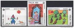 Italie - 1989 - Yvert N° 1810 & 1811 **  - Europa - 1981-90:  Nuovi