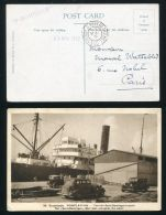 BRITISH GUIANA FRENCH MARITIME MAILBOAT ST.DOMINGUE 1912 - British Guiana (...-1966)