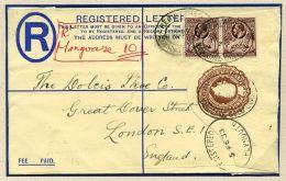 GOLD COAST REGISTERED KGV AMAZING VILLAGE POSTMARK - Gold Coast (...-1957)