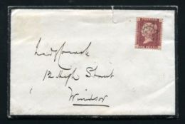 QUEEN VICTORIA RARE STAR POSTMARK ISLE OF WIGHT RAILWAY MASTER ROYAL HOUSEHOLD - Other Collections