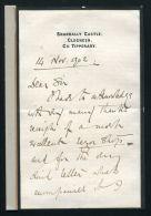 FINE LETTER GENERAL SIR REGINALD POLE CAREW ANGLO AFGHAN BOER WAR 1902 - Other Collections