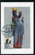 Luxembourg - Carte Maximum 1963 - Statue De La Vierge Noire - Maximum Cards