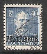 003919 Denmark 1945 Parcel Post 40o FU - Parcel Post