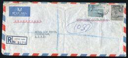 ADEN REGISTERED QE2 LITTLE ADEN COVER - Aden (1854-1963)