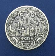 Russia, Moscow, Kremlin, Souvenir Jeton - Tokens & Medals