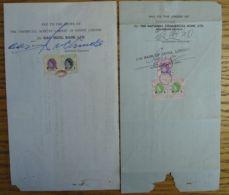 HONG KONG STAMP DUTY FISCALS TO $1 1967/69 - Hong Kong (...-1997)