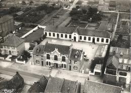 CPSM Provin - Vue Aérienne La Mairie Les Ecoles - Francia