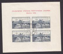 Czechoslovakia, Scott #434a, Used, Prague, Issued, 1950