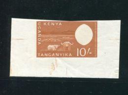 KENYA UGANDA TRANGANYIKE 1960 DIE PROOF DE LA RUE BUFFALO NGORONGORO - Kenya, Uganda & Tanganyika