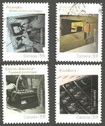Sc. # 2488a-d Canadian Innovations Set Used 2011 K226