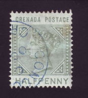 GRENADA QUEEN VICTORIA VILLAGE POSTMARK CONCORD - Grenada (...-1974)