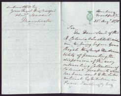 LETTER FROM JAMES FRASER BISHOP OF MANCHESTER TO PRINCE ALBERT EDWARD OF WALES - Other Collections