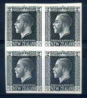 NEW ZEALAND KGV PLATE PROOF - New Zealand