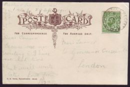 SCOTLAND MARITIME SHIPPING GREENOCK AND ARDRISHAIG PACKET 1911 IONA - Postmark Collection