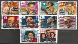 Timbres - Amérique - Etats-Unis - 1993 - Lot De 10 Timbres  (29) - - Vereinigte Staaten