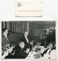 ORIGINAL PHOTO & REPLACEMENT CARD TORY PRIME MINISTER 1961 KESTON ASSOCIATION - Other Collections