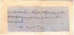 LOUIS PHILIPPE ALBERT D'ORLEANS COMTE DE PARIS 1873 SIGNATURE LEGITIMIST PARTY - Autographs