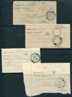 HONG KONG KG6 REGISTRATION RECEIPTS 1940 - Hong Kong (...-1997)