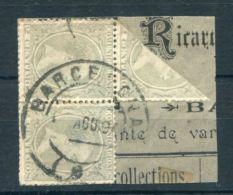 SPAIN ALPHONSE 13th BARCONLONA BISECT 1894 - Spain