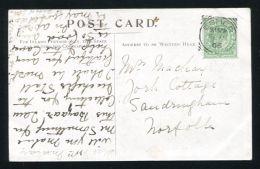 SIR ROBERT COLLINS TUTOR PRINCE LEOPOLD DUKE OF ALBANY POSTCARD SANDRINGHAM - Andere Verzamelingen