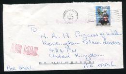 PRINCESS DIANA KENSINGTON PALACE U.S.A. 1997 - Postmark Collection
