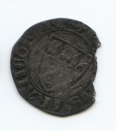 Blanc Guénar De Charles VI, 2e émission 1389 - 1380-1422 Charles VI Le Fol