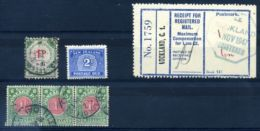 NEW ZEALAND POSTAGE DUES AND REGISTERED - New Zealand