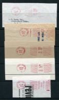 HONG KONG METER POSTMARKS 1951/1985 - Hong Kong (...-1997)