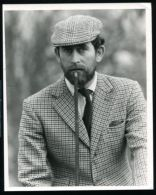 FINE ORIGINAL PRESS PHOTO PRINCE CHARLES & BEARD BADMINTON HORSE TRIALS 1976 - Famous People