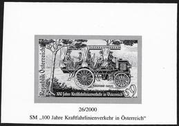 Austria/Autriche: Prova Per La Stampa, Proof For Printing, épreuve Pour L'impression, Cannstatter Daimler - Bus