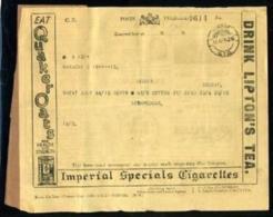 INDIA KGV TELEGRAM/TEA/CIGARETTES/TOBACCO 1926 - India (...-1947)