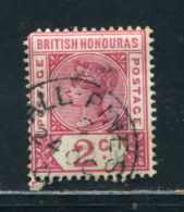 BRITISH HONDURAS VICTORIA RARE VILLAGE POSTMARK ALL PINES - Honduras Britannique (...-1970)