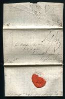 GB MADEIRA MARITIME SHIP LETTER PLYMOUTH DOCK DEVON NEWCASTLE 1809 - Postmark Collection