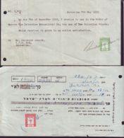 PALESTINE ISRAEL REVENUES 1935 TO 1967 - Israel