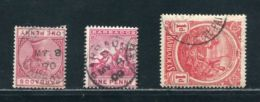 BARBADOS VICTORIA KINGS USEFUL POSTMARKS INCLUDES VILLAGES - Barbados (...-1966)