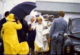 1986 HM QUEEN AUSTRALIA ROYAL VISIT - Famous People