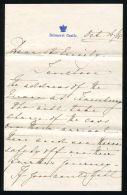 BALMORAL CASTLE LETTER PRINCESS HELENA SCHLESWIG-HOLSTEIN 1908 EMILY McGREGOR - Unclassified
