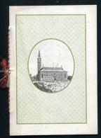 DANISH COPENHAGEN MIDDAG RAADHUS MENU SIR WILLIAM WATERLOW LORD MAYOR - Old Paper