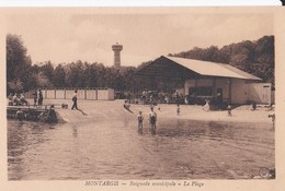 Montargis -  Baignade Municipale - La Plage - Montargis