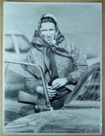 FINE LARGE ORIGINAL PRESS PHOTO PRINCESS ANNE BADMINTON HORSE TRIALS 1982 - Famous People