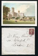 PRINCE LEOPOLD DUKE OF ALBANY OSBORNE HOUSE PORTSMOUTH RAILWAY POSTMARK - 1840-1901 (Victoria)