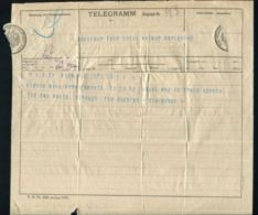 ANTIQUE ROYAL TELEGRAM QUEEN ALEXANDRA BALMORAL CASTLE TRAVEL DUCHIES 1903 - Unclassified