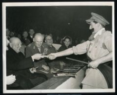 ALAMEIN REUNION 1952 FIELD MARSHALL MONTGOMERY PRIME MINISTER CHURCHILL - Famous People