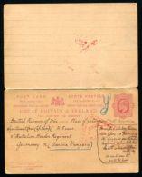 GB KING EDWARD 7TH STATIONERY WWI POW. GERMANY AUSTRIA - 1902-1951 (Koningen)