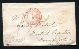 FINE ORIGINAL AUTOGRAPHED ENVELOPE 3RD EARL GREY COLONIAL SECRETARY LADY MAL - Other Collections