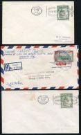 JAMAICA POSTMARKS KELLY TEMPORARY RUBBER DATESTAMP ROYAL VISIT 1953/54 - Jamaica (...-1961)