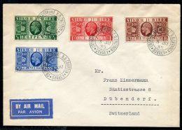 GREAT BRITAIN 1935 GEORGE FIFTH SILVER JUBILEE FLIGHT CROYDON AERODROME - 1952-.... (Elizabeth II)
