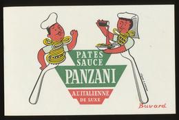Buvard - PATES - SAUCE - PANZANI - Buvards, Protège-cahiers Illustrés