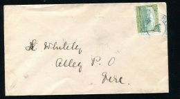 JAMAICA RAILWAY TPO GEORGE FIFTH ANNOTTO BAY ALLEY 1923 - Jamaica (...-1961)