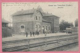 67 - GRUSS Aus TETERCHEN - Bahnhof - Gare - Zonder Classificatie